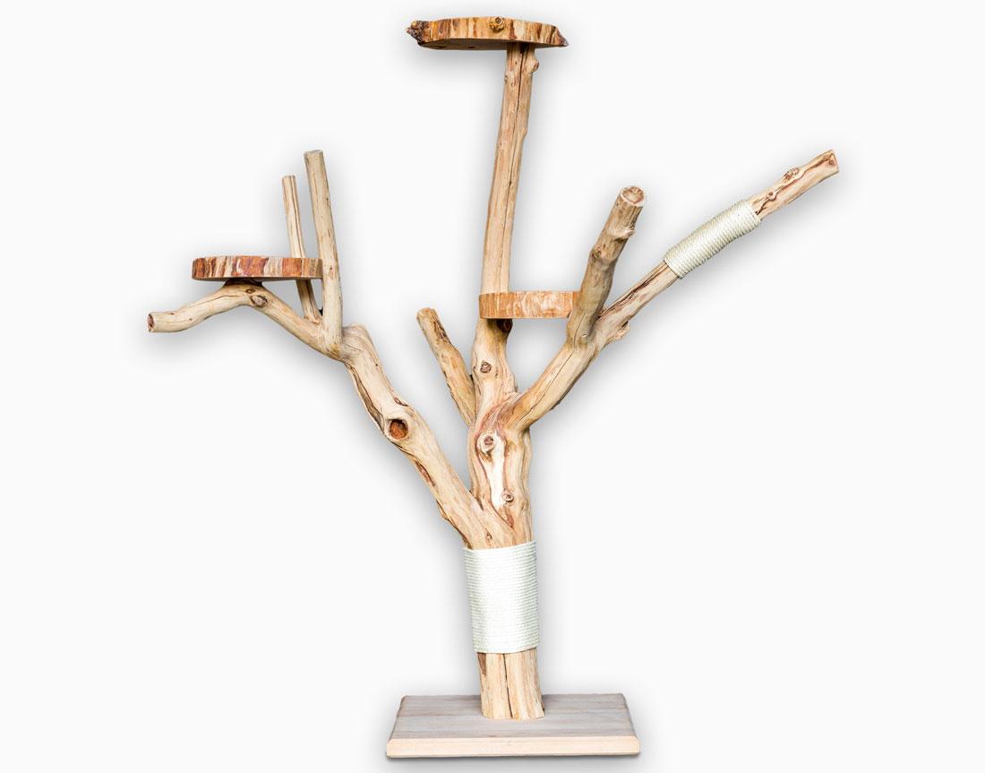 naturkratzbaum nº6 - catnature - ihr spezialist für hochwertige