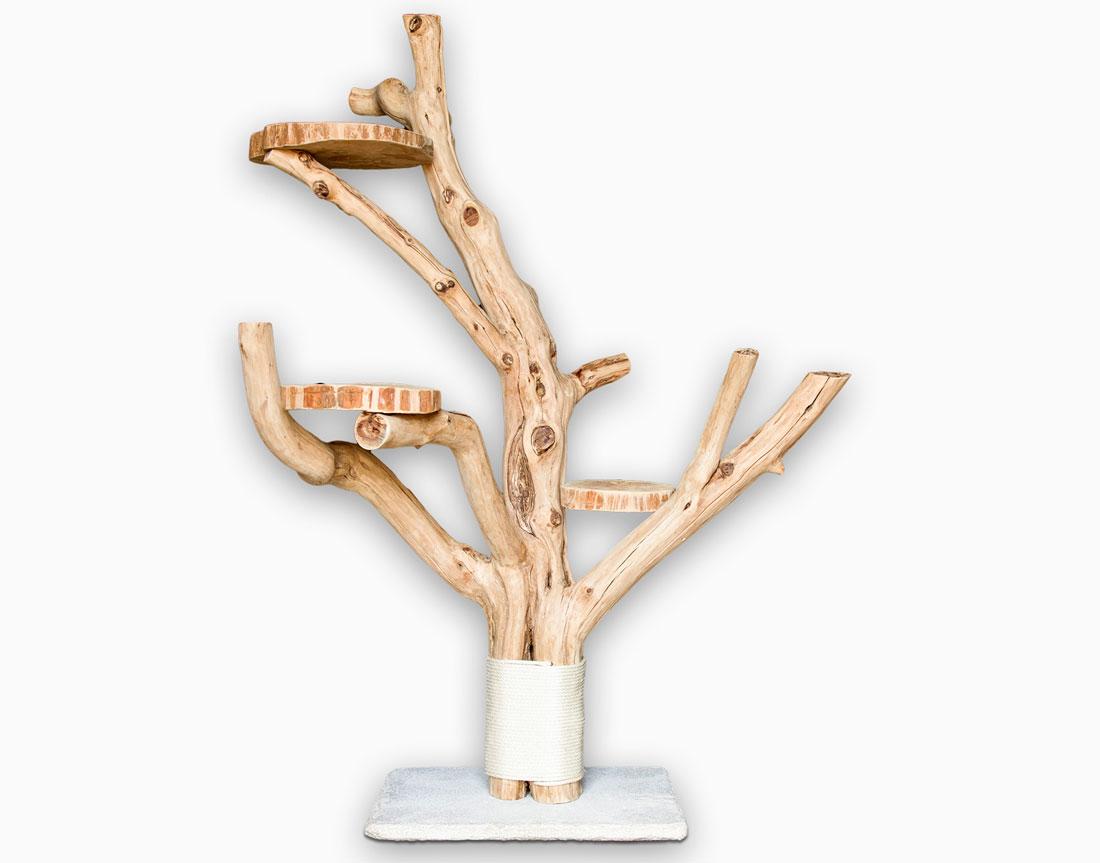 naturkratzbaum nº5 - catnature - ihr spezialist für hochwertige