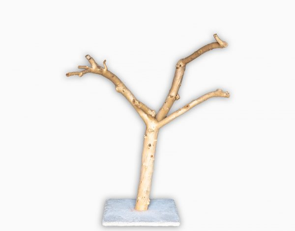 Naturkratzbaum Vollholz Rohling 38